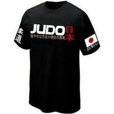 T-SHIRT JUDO MARTIAL-ART JAPAN COMBAT SPORTS - Camiseta Serigrafía
