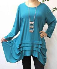 New Mesmerizingly, Travelers,Stylish and Designer, Plus size Tunic  Solid Colors