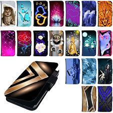 Hülle für Samsung Handys Tasche Schutzhülle Flip Cover Case Bumper Etui Motiv