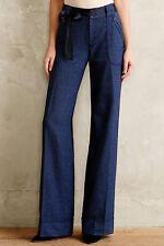 Elevenses Ribboned Wool Wide-Legs Pants Various Colors NW ANTHROPOLOGIE Tag