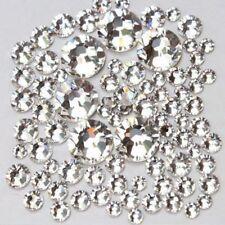 Nagel Strass Steine ss3-ss10, Kristalle aus Glas,KLAR