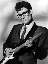 Buddy Holly Amazing Rare Portrait Guitar Retro Singer Giant Print POSTER Affiche