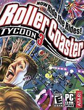 RollerCoaster Tycoon 3 (PC, 2004) - European Version