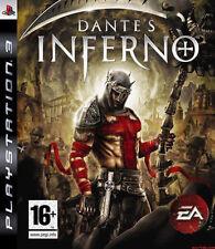 Dante'S INFERNO (PS3 SONY PLAYSTATION 3 2010) GRATIS UK P & P