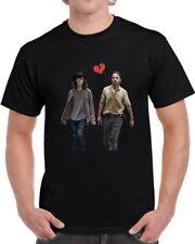Rick And Carl Grimes Heartbreak Unisex T-Shirt The Walking Dead Tv Show Gift Tee