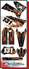 KIT grafica AMBRO per KTM SX e EXC