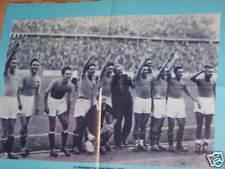 POSTER ITALIA CAMPIONE OLIMPICA OLIMPIADI 1936 POZZO &C