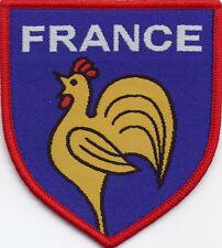 France Football Badge Patch 7.5 x 6.8cm