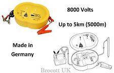 8000 VOLT ELECTRIC FENCE ENERGISER - SECURITY FENCE ENERGISER KIT - 12VOLT / 8KV