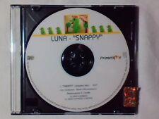 LUNA Snappy cd singolo PR0M0 RARISSIMO