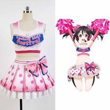 Love Live!Cheerleader Yazawa Nico/Niko Cosplay Costume Uniform Outfit Dress Suit