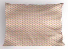 Fish Scale Pillow Sham Decorative Pillowcase 3 Sizes Bedroom Decor Ambesonne