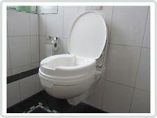 Toilettensitzerhöhung Toilettensitz 10 cm mit Deckel***