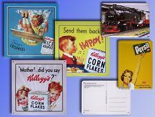 Nostalgie Blechschild Kelloggs Persil Dampflok Vintage Blech Reklame Schild