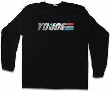 Kaido Joe manga larga T-Shirt gi joe Comandante Cobra Kai Destro Action Force