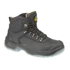 Amblers Steel FS199 - Chaussures montantes de sécurité, noir, EUR 36-39 (FS550)