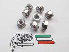 Grade 5 Titanium M8 Nyloc Nuts