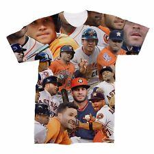 Jose Altuve Houston Astros Photo Collage T-Shirt