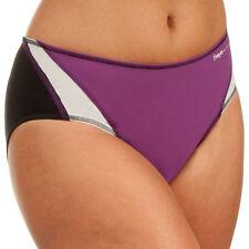 Freya Active Classic Bikini Bottom Swimwear 3993 Damson Purple Black V Sizes NEW