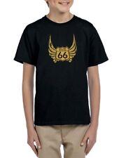 Camiseta niño niña RUTA 66 ROUTE 66  T shirt child kid diff. sizes biker