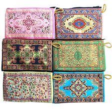 Handmade  Bohemian Silk Zip-Up Purses - Choose from any 6 designs!