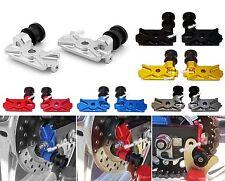 CNC Swingarm Spool Slider Adapter Mounts For HONDA CBR250R CBR300R CBR 250R 300R
