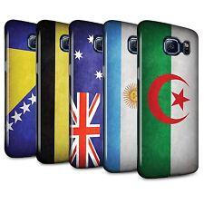 STUFF4 Gloss Phone Case for Samsung Galaxy S6 Edge /Flags