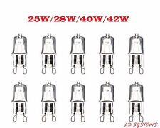 G9 Long Life Halogen Light Bulbs 25W 28W 40W 42W G9 Capsule Light Bulbs
