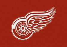"5x8 Milliken Detroit Redwings Sports NHL Spirit Area Rug - Approx 5'4""x7'8"""