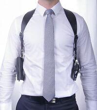 Leather Shoulder Holster for Smart Phone & Wallet