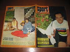 LO SPORT ILLUSTRATO 1959/33 ANTONIO MASPES CAMPIONE DEL MONDO CICLISMO VELOCITA'