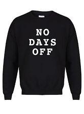N. di giorni non lavorativi-UNISEX FIT Sweater-Fun Gym Workout estate consecutiva Yoga Maglione