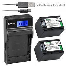 NP-FV70 Battery&LCD Slim Charger for Sony HDR-CX550V CX560V CX580V CX700V CX760V