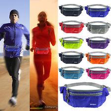 Waterproof Waist Bag mobile phone Sport Wallet Fanny Pack Belt Pouch bumbag