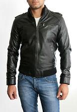 Jacke Jacke Herren aus von Leder 100% Mann Leder Jacke Kleidung Homme Cuir 3s3