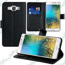 Housse Etui Coque Portefeuille Support Video Samsung Galaxy E5 SM-E500F E500H