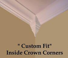 Crown Molding inside Corner Blocks wood pine 4 pack High Quality Craftsmanship!