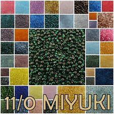 11/0 23 g Miyuki Round Rocaille Seed Beads #3-299