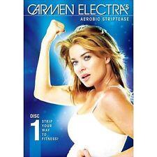 DVD CARMEN ELECTRA Aerobic Striptease Strip Your Way Fitness 3 dance routines