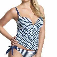 Panache Cleo Swimwear Lucille Tankini Top Nautical Print CW0061