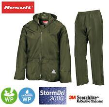 Résultat Pour Homme Vert Imperméable Coupe-vent Heavyweight veste pantalon de pluie sac