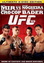 UFC 119: Mir vs. Cro Cop (DVD, 2010, 2-Disc Set)