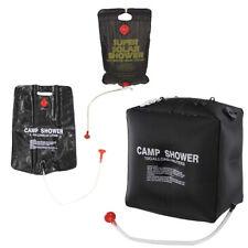 Ducha solar 10l, 20l, 40l agua caliente en el camping duchas lavar caravana