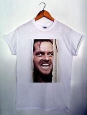 Qui è JOHNNY SHINING Hipster Graphic Da Uomo & Da Donna T-Shirt S-XXL