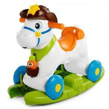 baby rodeo boy miss girl cavallino porteur ride on schaukelpferd horse chicco