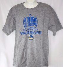 NEW Mens MAJESTIC NBA Golden State Warriors Grey Big & Tall Tee T Shirt