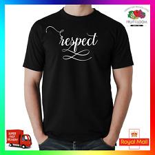 Camiseta Tee Tshirt respeto Fresco Hype declaración de música divertida Hiphop frase tendencia