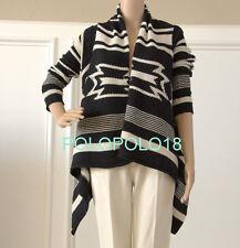 New $249 Ralph Lauren Jeans Co Women Drape Cardigan Sweater Polo XS S M L XL