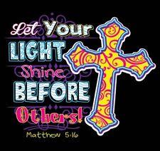 Let Your Light Shine Before Others Shirt, Christian Shirt, Matthew 5:16, Jesus