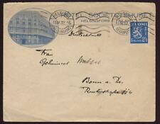 FINLAND 1932 HOTEL ILL.COVER..SOLO 2 1/2m LION FRANKING